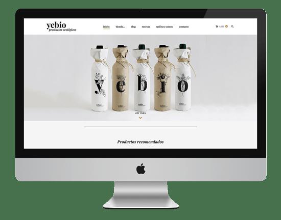 desarrollo web yebio
