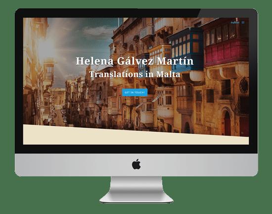 traducciones en malta diseño web